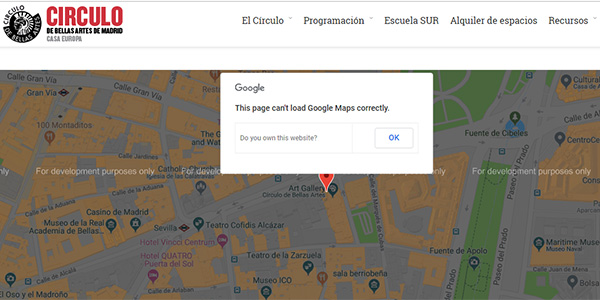 TodoBravo-web-design-cant-load-mapa-google-maps-for-development-purpose-only-problem