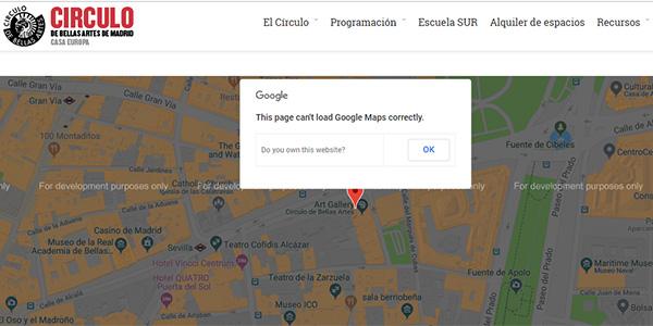 TodoBravo-web-design-cant-load-mapa-google-maps-for-development-purpose-only-problem